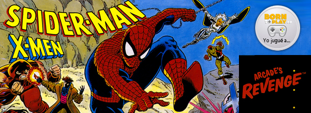 Spiderman X-Men Arcade's Revenge