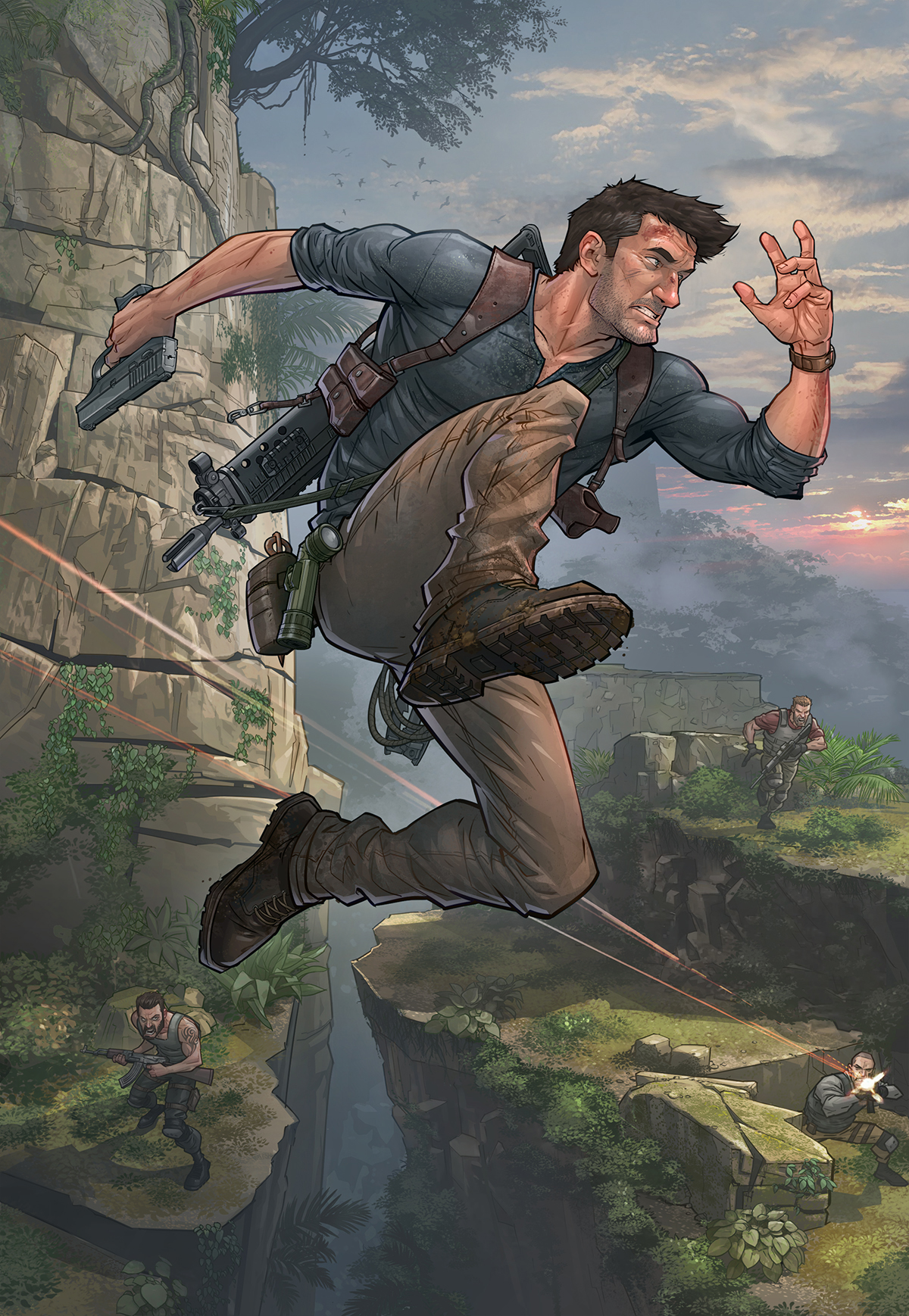 Patrick Brown Uncharted 4