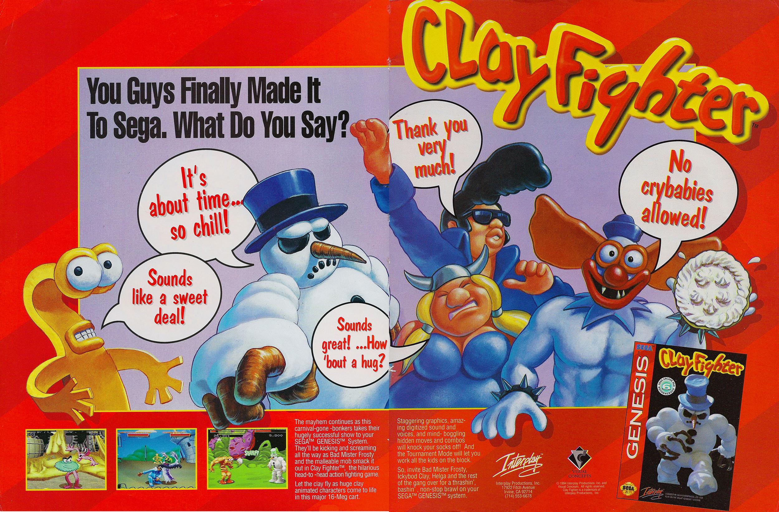 Clayfighter remaster