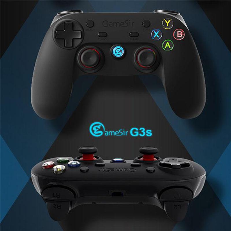 GameSir G3s Enhanced Edition, gamepads smartphone, gamepad android, mando, mandos para telefonos, gamepad iOS, windows mobile, PS3, gamepad pc, gamepad emuladores