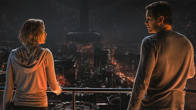 Passengers pelicula estrenos cartelera videojuegos ciencia ficcion peliculas 2017 borntoplay