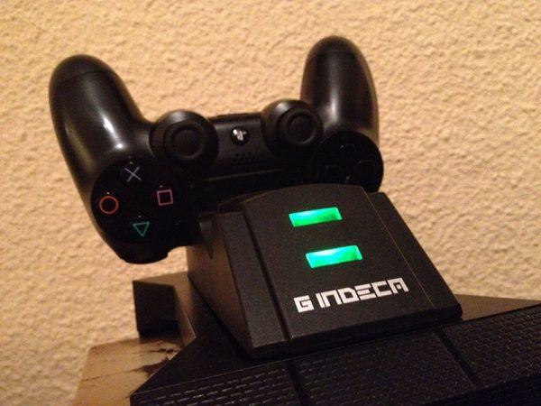 game tower charge gamepad ps4 indeca torre de carga para mandos y juegos ps4 complementos ps4 periféricos útiles para jugadores ideal para gamers gaming accesorios (2)