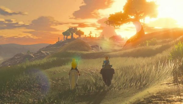 Zelda breath of the wild analisis link wii u zelda switch borntoplay