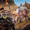 analisis horizon zero dawn, review en español combate horizon zero dawn guerrilla games ps4 sony
