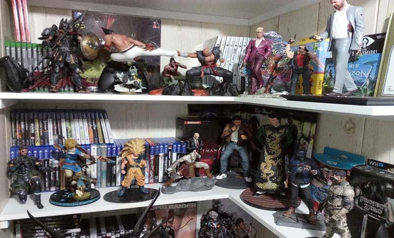 figuras de videojuegos, ediciones coleccionista videojuegos con figura, First 4 Figures,Square Enix Store, figuras de accion, videojuegos, amiibo, nintendo