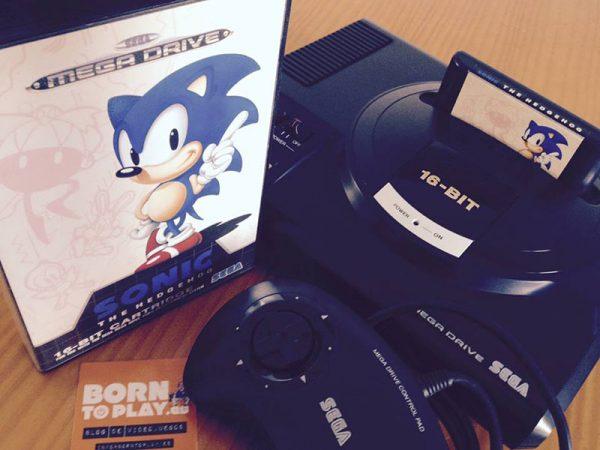 consolas antiguas, SEGA, mega drive, reparación consolas antiguas, videojuegos retro, borntoplay
