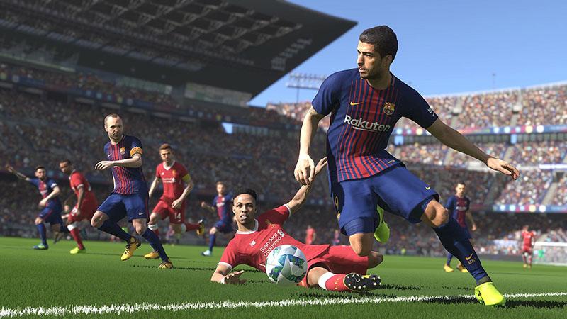 pro2018, Pro Evolution Soccer, konami,